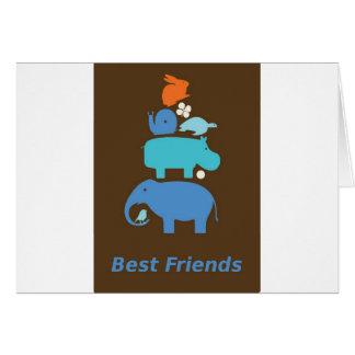 BestFriends Tarjeta De Felicitación