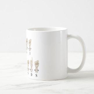 BestFriendsAmeslan062511 Coffee Mug