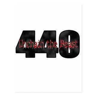 Bestia de 440 Mopar Postal