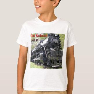 Bestia de la escuela vieja del tren del hierro camisas