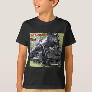Bestia de la escuela vieja del tren del hierro poleras