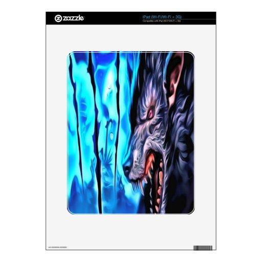 Bestia de la noche iPad skins