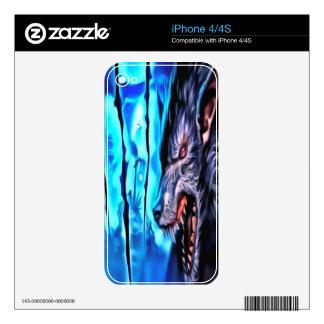 Bestia de la noche skins para iPhone 4