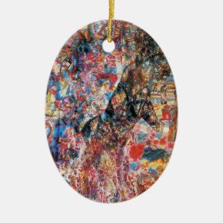Bestia de Pavel Filonov- (lobo Cub) Ornamentos De Reyes
