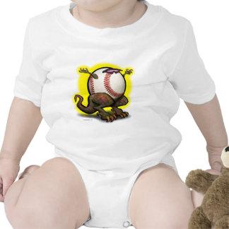 Bestia del béisbol traje de bebé