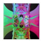 Bestia del fractal azulejo cerámica