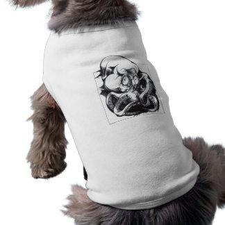 Bestia del tentáculo camiseta de mascota