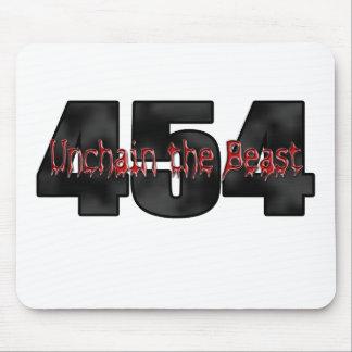 Bestia grande del bloque 454 alfombrillas de raton