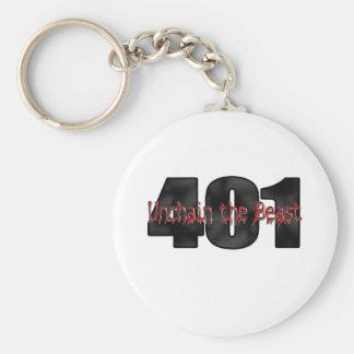 Bestia salvaje de 401 Nailhead Buick Llavero Redondo Tipo Pin