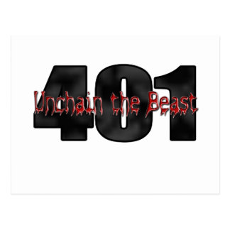 Bestia salvaje de 401 Nailhead Buick Tarjeta Postal