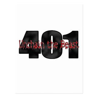 Bestia salvaje de 401 Nailhead Buick Tarjetas Postales