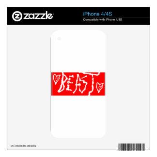 Bestia Skins Para iPhone 4S