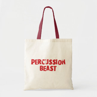 Bestia Totebag de la percusión Bolsa
