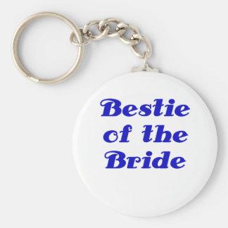 Bestie of the Bride Keychains