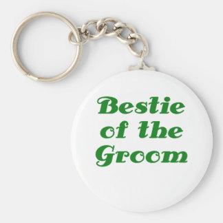 Bestie of the Groom Key Chain