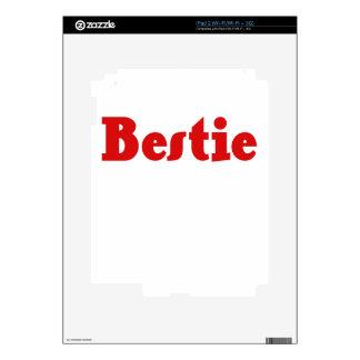 Bestie iPad 2 Decal