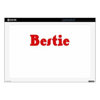 "Bestie Decal For 17"" Laptop"