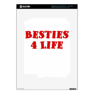 Besties 4 Life iPad 3 Skin