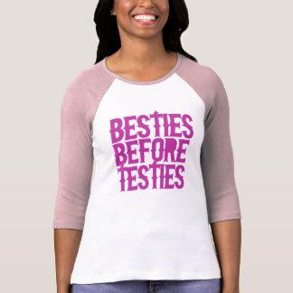Besties Before Testies Shirts