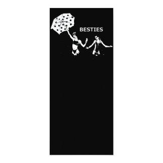 Besties Best Friends on the Beach Card