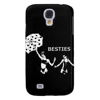 Besties Best Friends on the Beach Galaxy S4 Case