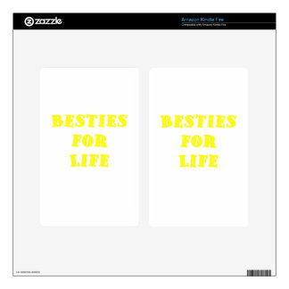 Besties for Life Decals For Kindle Fire