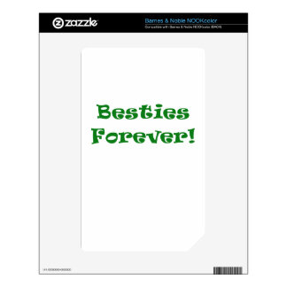 Besties Forever Decal For The NOOK Color