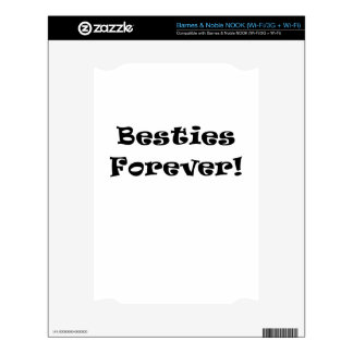 Besties Forever Decal For The NOOK