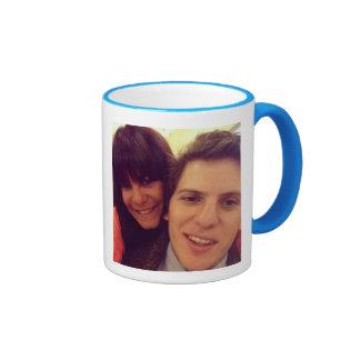 #besties ringer coffee mug