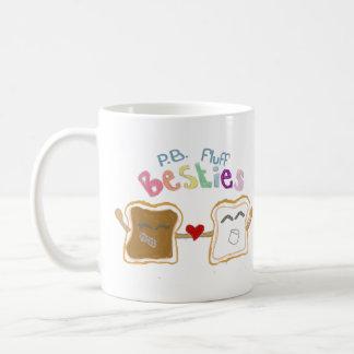 besties peanut butter fluff coffee mug