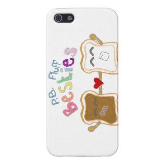 besties peanut butter fluff Iphone case