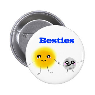 Besties Pinback Button