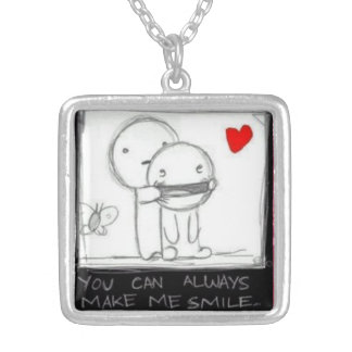 Besties Silver Plated Necklace