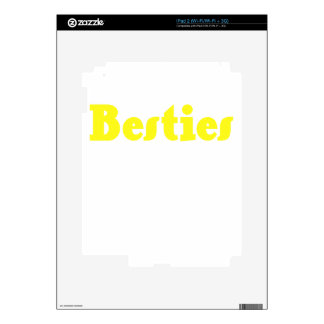 Besties iPad 2 Skin