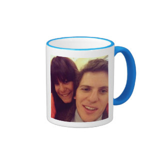 #besties taza a dos colores