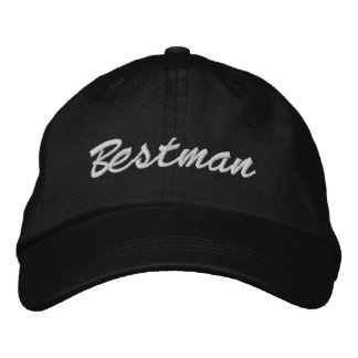 Bestman Embroidered Hat