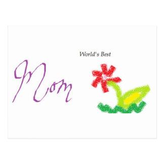 bestmom postcard