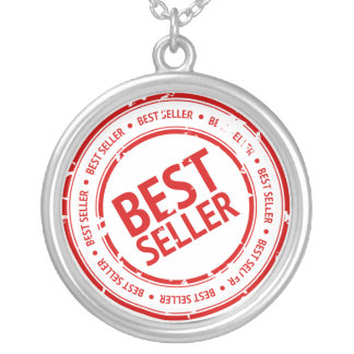 Bestseller Stamp Round Pendant Necklace