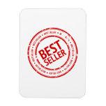 Bestseller Stamp Vinyl Magnet