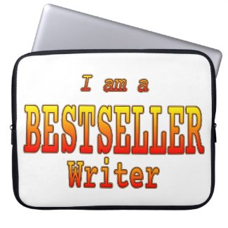 Bestseller Writer Laptop Sleeve Customizable