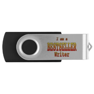 Bestseller Writer USB stick Customizable Flash Drive