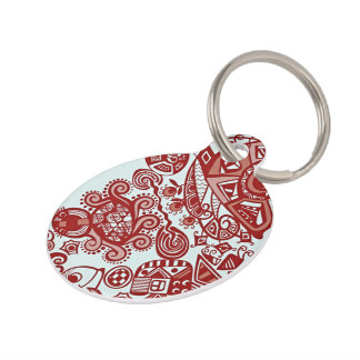 Bestselling Artistic Themed Pet Tag