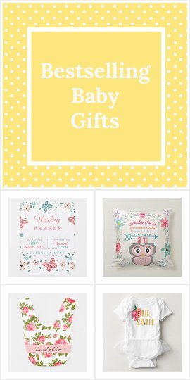 Bestselling baby gifts
