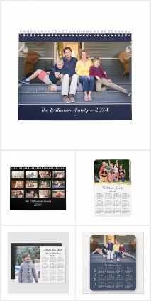 Bestselling Customizable 2020 Calendar Products