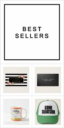 Bestselling Products on Zazzle