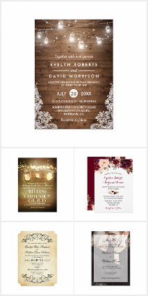 Bestselling Wedding Invitations