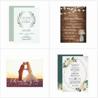 Bestselling Wedding Invitations & Stationery