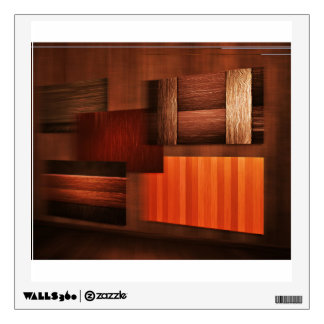 Bestselling Wood Themed Wall Decal