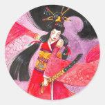 Besuto Samurai Sticker, Small
