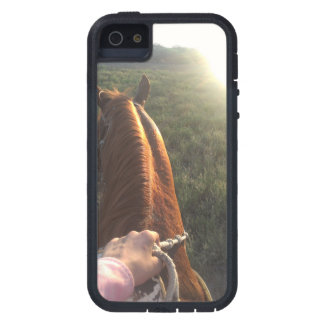 Bet of the sun with Horse Case For iPhone SE/5/5s